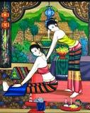 Naramienny masaż Zdjęcie Royalty Free