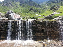Naran Water Fall Royalty Free Stock Image