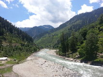 Naran Water Fall Stock Photography