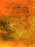 Naranja abstracta Fotografía de archivo libre de regalías