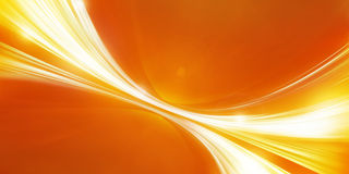 Naranja abstracta del fondo Imágenes de archivo libres de regalías