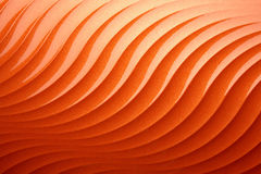 Naranja abstracta del fondo Fotografía de archivo