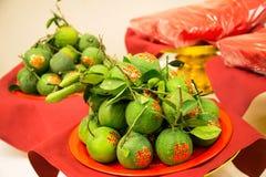 Naranja afortunada Imagen de archivo libre de regalías