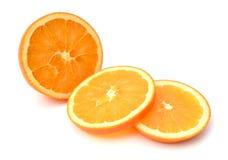 Naranja aislada Imágenes de archivo libres de regalías