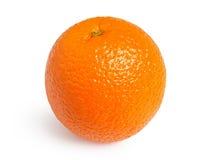 Naranja aislada en el fondo blanco Fotografía de archivo libre de regalías