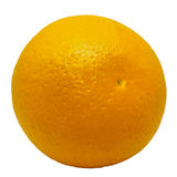 Naranja aislada en el fondo blanco Fotos de archivo