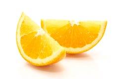 Naranja cortada fotos de archivo