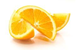 Naranja cortada foto de archivo libre de regalías