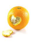 Naranja de Hart Peel Fotos de archivo