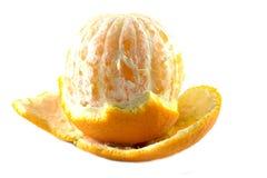 Naranja de la cáscara Fotos de archivo libres de regalías