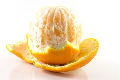 Naranja de la cáscara Imagenes de archivo