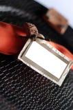 Naranja de la etiqueta del vector Imagen de archivo libre de regalías