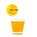 Naranja de la sonrisa Fotografía de archivo libre de regalías