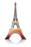 Naranja de la torre Eiffel Imagen de archivo libre de regalías