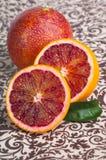 Naranja de sangre foto de archivo