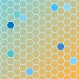 Naranja de tierra Hexa ilustración del vector