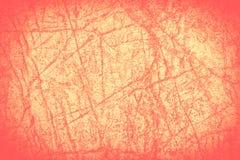 Naranja del Grunge con la ilustración con el espacio vacío Fotos de archivo