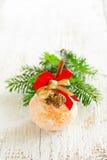 Naranja en el pudre del azúcar Fotografía de archivo libre de regalías