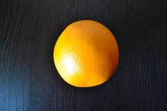 Naranja en fondo negro foto de archivo libre de regalías