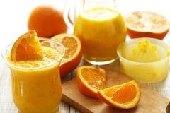 Naranja exprimida Imagen de archivo