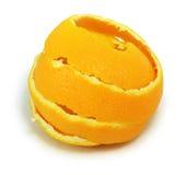 Naranja fresca de la cáscara foto de archivo libre de regalías