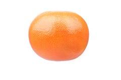 Naranja fresca jugosa aislada en el fondo blanco Imagen de archivo