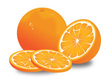 Naranja, ilustración Foto de archivo libre de regalías
