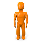 Naranja man forward Royalty Free Stock Images