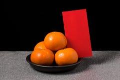 Naranja, mandarina Foto de archivo libre de regalías