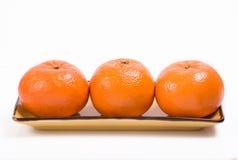 Naranja, mandarina Fotos de archivo