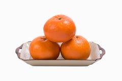 Naranja, mandarina Fotografía de archivo libre de regalías