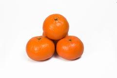 Naranja, mandarina Fotos de archivo libres de regalías