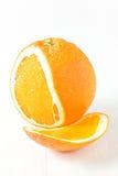Naranja orgánica Fotografía de archivo libre de regalías