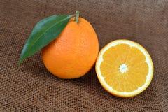 naranja orgánica imagenes de archivo