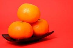 Naranja por Año Nuevo chino Imagen de archivo libre de regalías