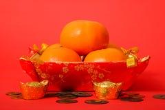 Naranja por Año Nuevo chino Imagenes de archivo
