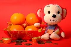 Naranja por Año Nuevo chino Imágenes de archivo libres de regalías