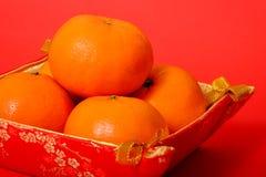 Naranja por Año Nuevo chino Fotografía de archivo