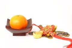 Naranja por Año Nuevo chino Fotografía de archivo libre de regalías