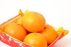 Naranja por Año Nuevo chino Imagen de archivo