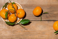 Naranja por Año Nuevo chino lunar Concepto del día de fiesta de Tet Imagenes de archivo