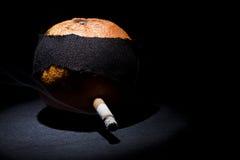Naranja que fuma Foto de archivo libre de regalías