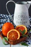 Naranja sangrienta. Fotografía de archivo libre de regalías