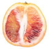Naranja sangrienta fresca aislada Imagen de archivo libre de regalías