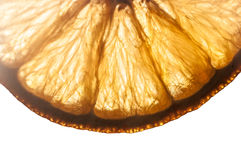 Naranja secada Foto de archivo