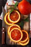 Naranja siciliana. Foto de archivo libre de regalías