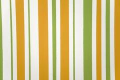 Naranja, textura rayada vertical del verde Imagenes de archivo