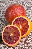 Naranja tropical de la sangre imágenes de archivo libres de regalías