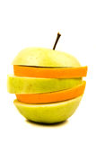 Naranja y Apple Fotos de archivo