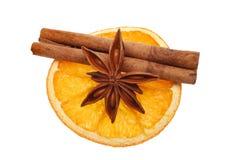 Naranja y especia Foto de archivo